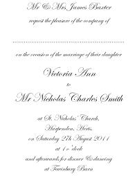 formal wedding invitation wording cloveranddot com