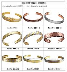 magnetic bracelet with copper images Copper magnetic bracelet ebc manufacturers suppliers jpg