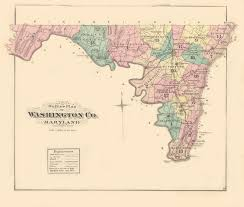 Washington County Map by Washington Co An Illustrated Atlas Of Washington County Maryland