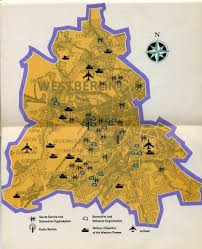 Ussr Map Map Of West Berlin Published In The Ussr Cold War 1962 U2026 Flickr