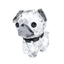 swarovski puppy the pug greed jewellery
