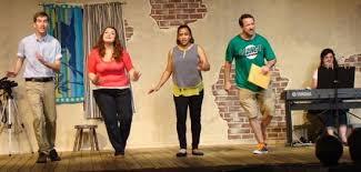 Summer Garden Theatre - theatre review u0027 title of show clean version u0027 at annapolis