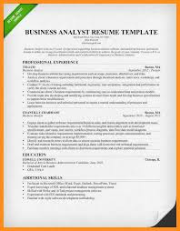 Resume Template Business Analyst Resume Samples Business Analyst Business Systems Analyst Resume
