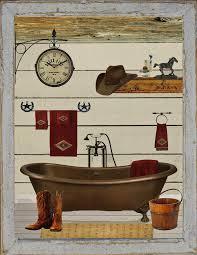 cowboy bathroom ideas bathroom bath bathtub cowboy boots sign ebay
