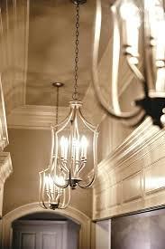 Chandeliers For Foyers Entrance Light Fixture Brushed Nickel Foyer Chandelier Modern