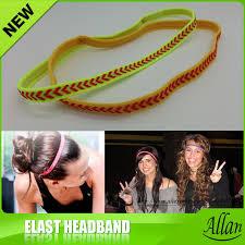 football headbands 2017 sports elastic headband football softball rubber plastic