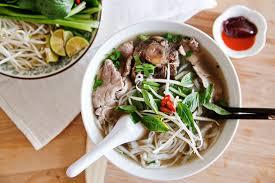 pho cuisine s pho bo beef noodle soup salt