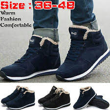 Comfortable Boots For Men Cotton Boots For Men Ebay