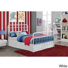 dhp brooklyn iron full bed frame free shipping today overstock