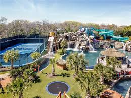 Water Slides Backyard by 32m Texas Mansion Has Waterpark In Ground Trampoline In Backyard