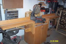 mitre saw table
