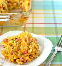broccoli cheddar u0027n ham hashbrown casserole its yummi