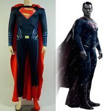 batman v superman dawn of justice clark cosplay costume zentai