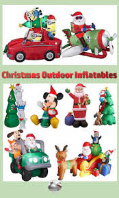 decorating your yard with outdoor inflatables