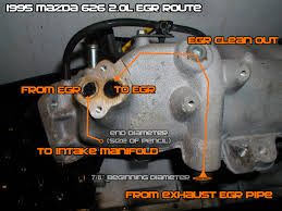 egr inspection u0026 cleaning 1993 2002 tutorials u0026 how to guides