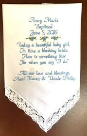 Personalized Gift For Baby Embroidered Baptism Bib Personalized By Hi5babyhandmadegoods