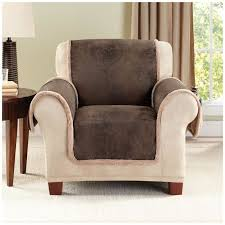 Grey Slipcover Sofa by Furniture Dark Grey Chair Cover Added Brown Wooden Round Table