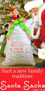 santa sacks santa sack special delivery from santa open dec 25th design dazzle