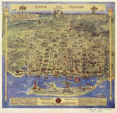 Map Of Toronto And New York by Tracing Toronto U0027s History Through Maps