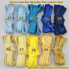 satin bias free shipping polyester satin bias piping bias with cord