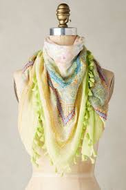 wearing summer scarves with casual dresses ylf