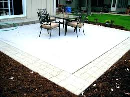 How To Cover A Concrete Patio With Pavers Pavers Concrete Installing Your Existing Patio Is A