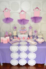 ballerina theme candy bar party candy and dessert bar styling