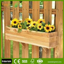 wow beautiful balcony flooring wood plastic flower box wood
