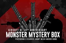 gi 14th anniversary monster mystery box featuring 3 classic army