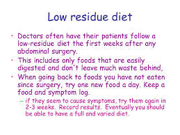 enjoying your food again diet after stoma reversal ppt download