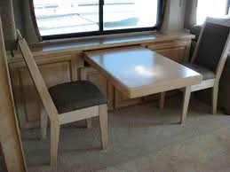 table likable chair dining room table and chairs rv dinette for