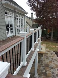 Porch Steps Handrail Outdoor Marvelous Deck Rail Lighting Deck Steps Stair Handrail
