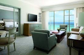 Livingroom Club by Club Ocean View Suite In Mexico The Ritz Carlton Cancun