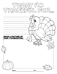 childrenu0027s thanksgiving worksheets i am thankful coloring