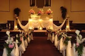 small church wedding traditional wedding decorations in church decoration church