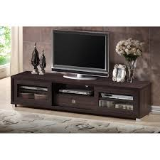 Modern Tv Stand Furniture by Wholesale Interiors Sculpten Dark Brown Modern Tv Stand With Glass