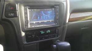 nissan titan aftermarket stereo update removed navigation and rewired automatic climate control