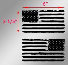 Free American Flag Stickers Product 2 Jeep Usa Flag Distressed Wrangler Left And Right Decals