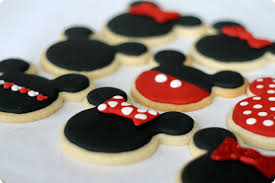 mickey minnie mouse cookies easy sugar cookie idea