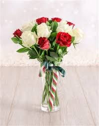 White Roses In A Vase Buy Roses Online Netflorist Same Day Delivery