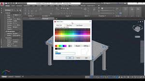 How To Create A Table In R How To Make A Realistic Table In Autocad Youtube