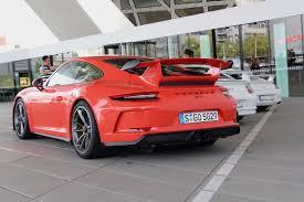porsche gt3 red 2018 porsche 911 gt3 first drive review autoguide com news
