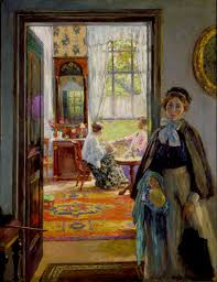 gari melchers to loan painting to international exposition news