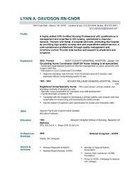 Resume Sle For A Nursing Student Nursing Resume Cincinnati Sales Nursing Lewesmr