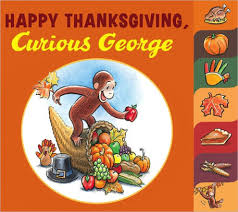 happy thanksgiving curious george by h a nook book nook
