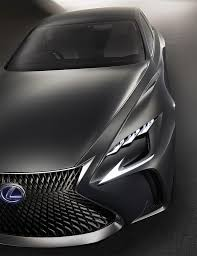 lexus lf lc tail lights redesigned lexus lf fc concept revealed at tokyo motor show news