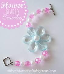 how to make flower beaded bracelets adventures of a diy mom