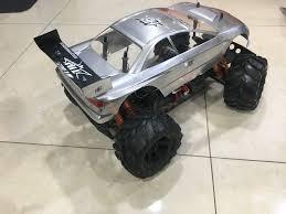 lexus monster truck rc subaru wrx sti monster truck