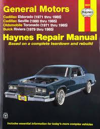 amazon com haynes manuals 38030 eldorado seville deville71 85