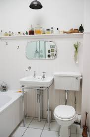 bathroom ideas corner bathroom wall shelves on white painted